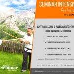 Fabio Ramazzin Aikido docente professionista, locandina evento di Aikido seminario intensivo di due giorni